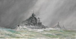 HMS HOOD, HMS RENOWN & HMS REPULSE: A FALLING GLAS