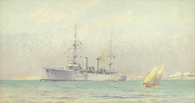 HMS DIDO, 1900