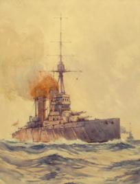 HMS QUEEN ELIZABETH IN HER EARLY YEARS