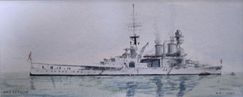 THE BATTLE CRUISER HMS REPULSE