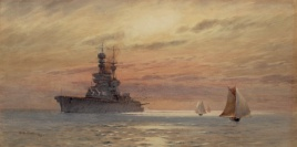 HMS COURAGEOUS 1923