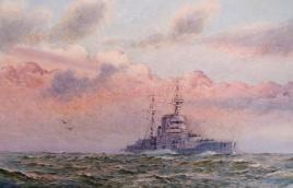 Queen Elizabeth Class dreadnought 1919