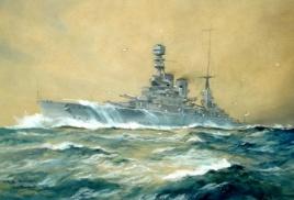 HMS RENOWN, 1935