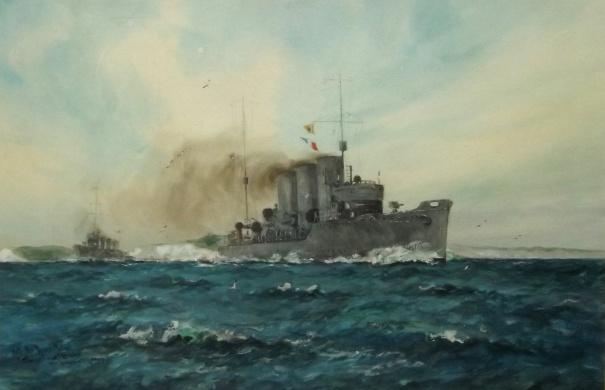 THE DOVER PATROL: HMS SWIFT AND HMS BROKE, 1917