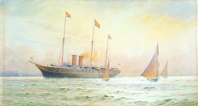 HM Yacht VICTORIA & ALBERT