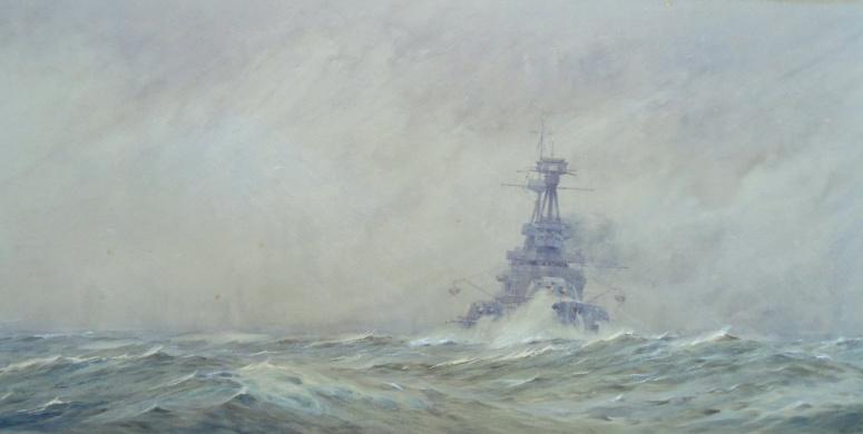 Grand Fleet Dreadnought Keeping the Seas - HMS TEMERAIRE