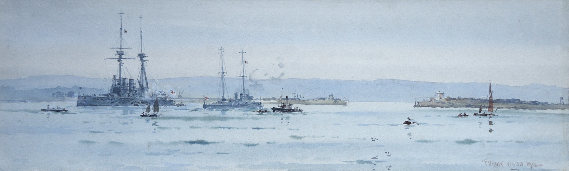 HMS AGAMEMNON at Portland