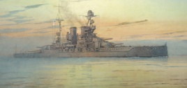Queen Elizabeth Class battleship, 1920