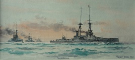 HMS COLLINGWOOD, 1920