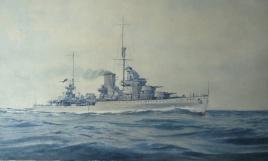 HMS AJAX 1938/39