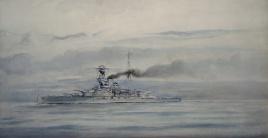 R Class battleship 1930s