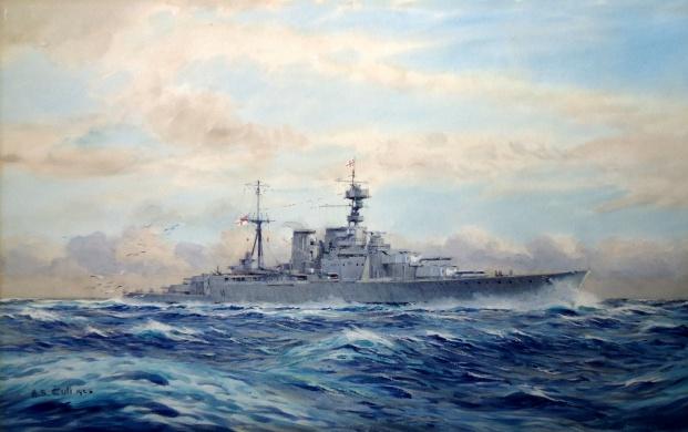 HMS HOOD, 1926