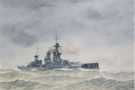 HMS IRON DUKE training ship