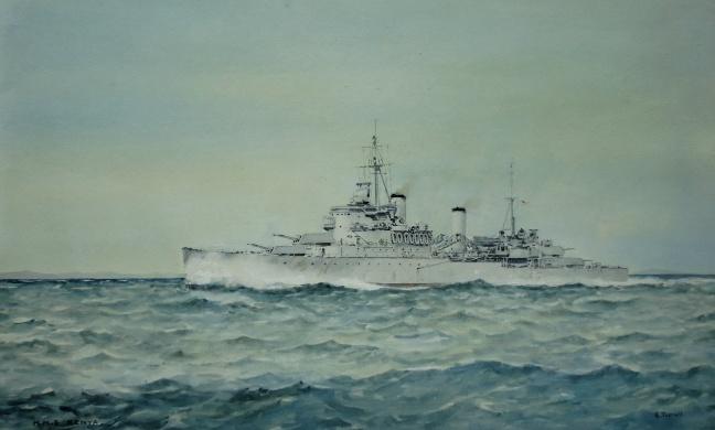 HMS KENYA