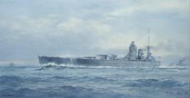 HMS NELSON. 1934