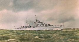 HMS EURYALUS - Dido Class light cruiser