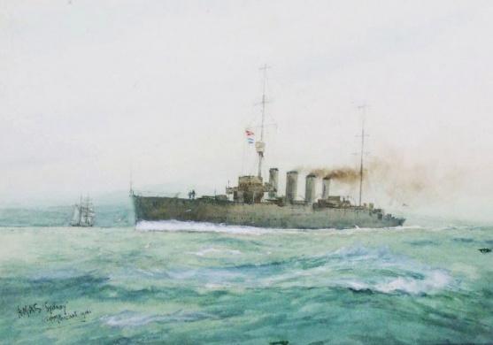 HMAS SYDNEY, 1914