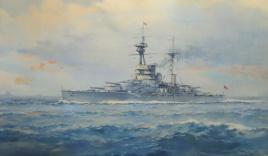 R Class battleship 1927