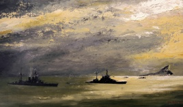 Transferring the Admiral: HOOD and REPULSE in the Straits of GIbraltar