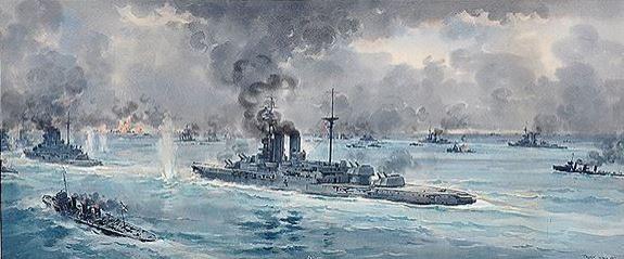 The Battle of Jutland 1916