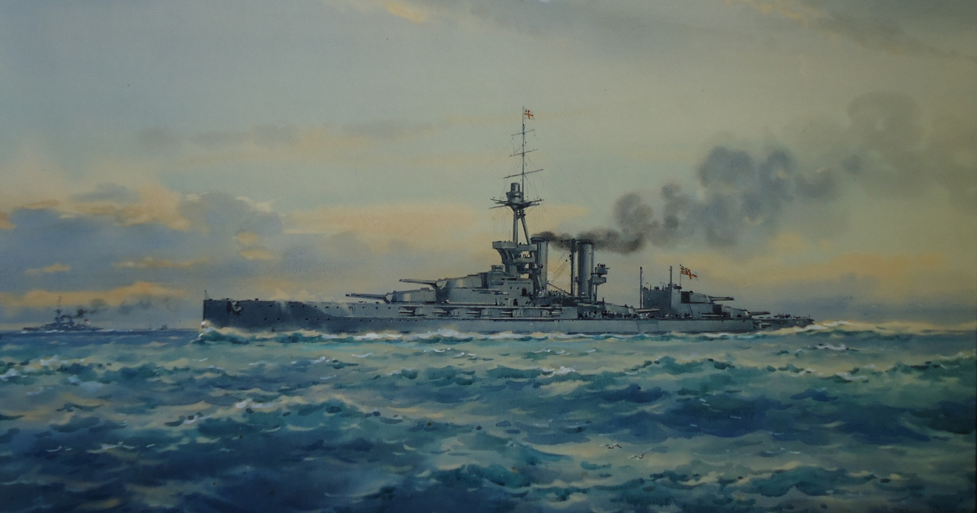 HMS MARLBOROUGH  Piling on Speed