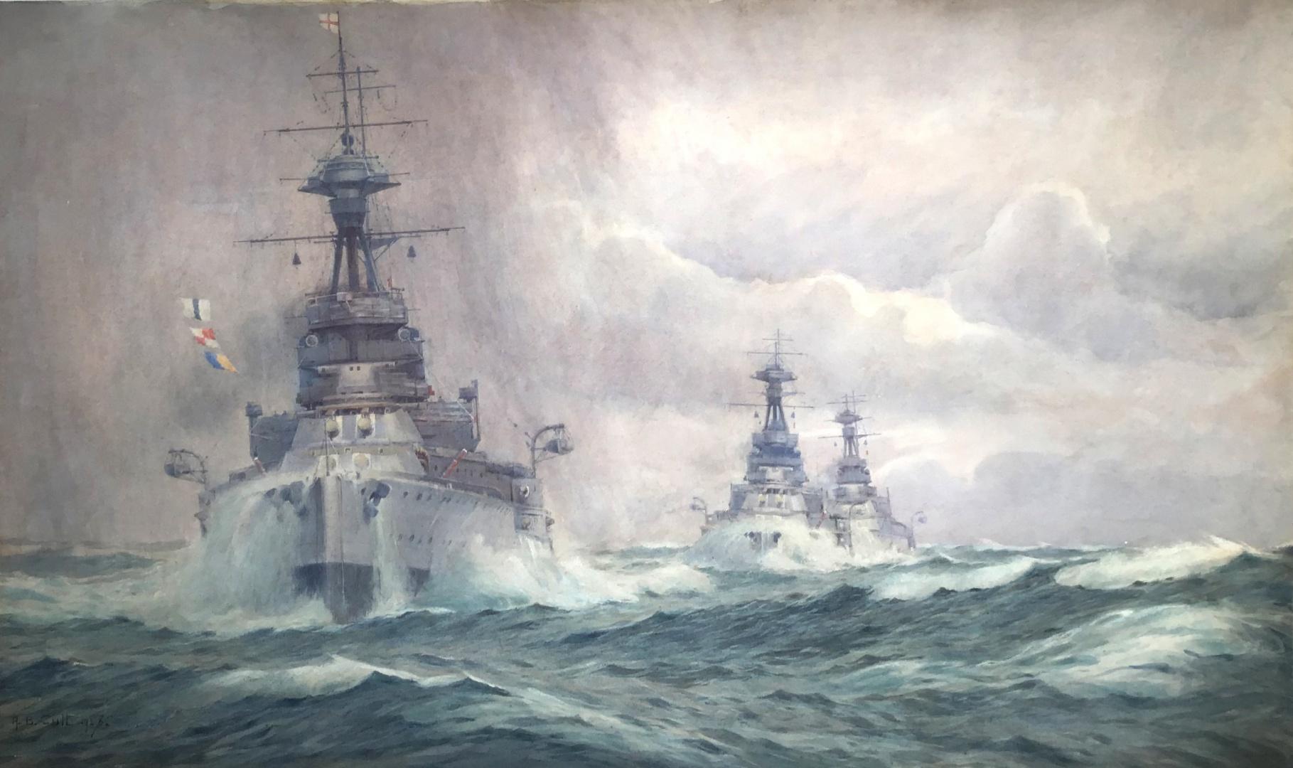 The 2nd Battle Squadron, Atlantic Fleet c.1925/26